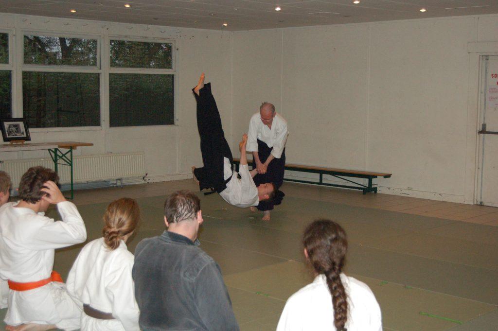 P.Chalmagne R.Dejardin Cours aikido Tarins 2007 (4)