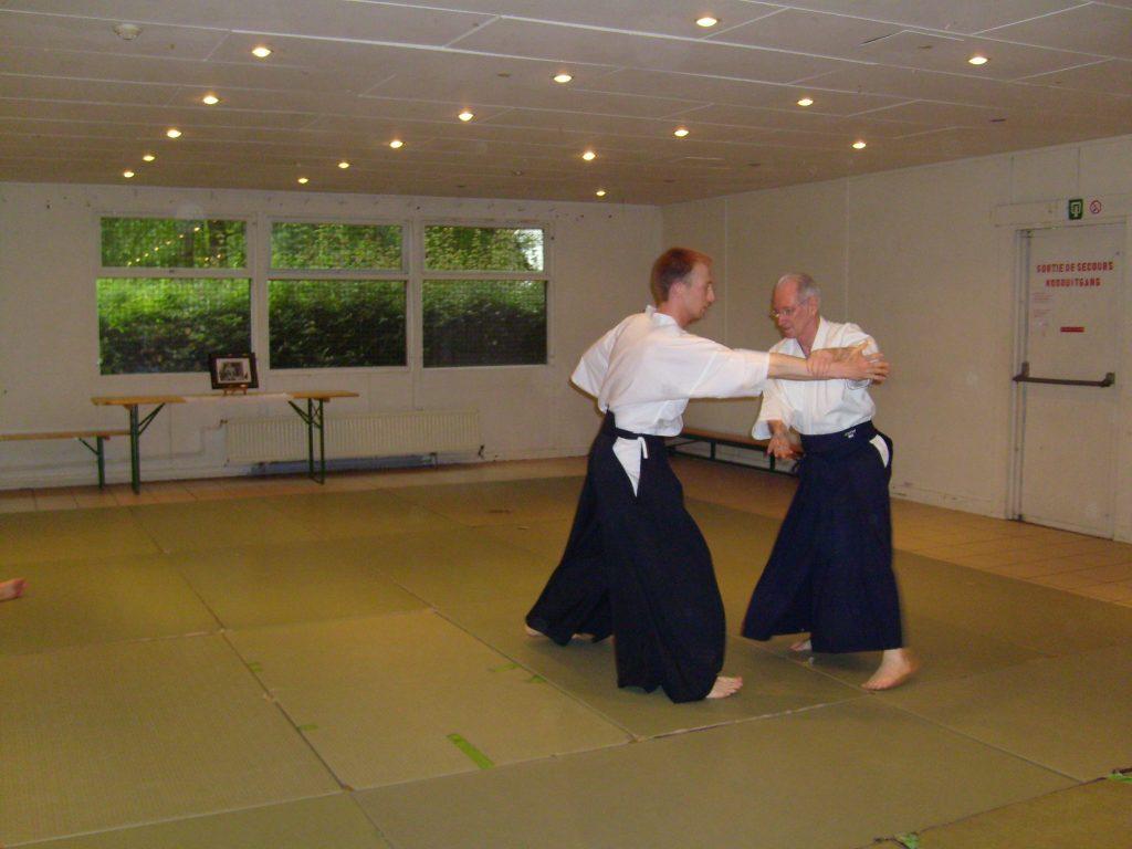 P.Chalmagne R.Dejardin Cours aikido Tarins 2007 (5)